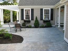 25 Great Stone Patio Ideas For Your Home Bluestone Patio