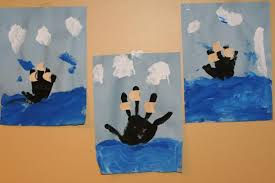 handprint boat crafts for columbus day