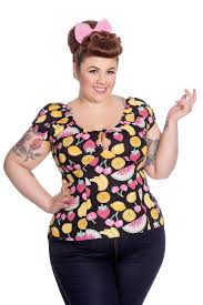 Plus Size Women Clothing Stores It U0027s Tops Featuring Hell Bunny U0026 Lindy Bop Cherri Lane