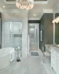 stunning bathroom design wall color is grizzle gray by benjamin