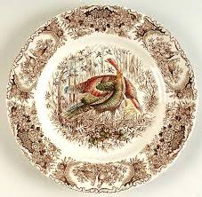 johnson brothers has many turkey plate patterns to choose from