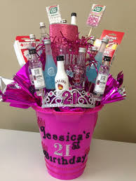 birthday basket best 25 21st birthday basket ideas on 21 birthday