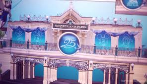 Paris Decorations Main Street To Turn Blue And Silver In Disneyland Paris 25th