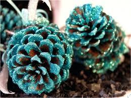 glass pinecone ornaments glass pine cone tree