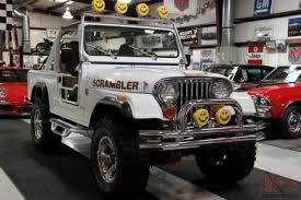 jeep scrambler for sale other cj8