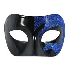 men masquerade masks blue and black masquerade mask for men masquerademaskformen mask