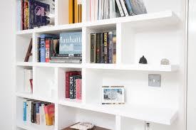 square bookshelves home decor