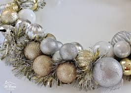 and easy diy ornament wreath the homes i made