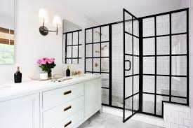 Frame Shower Door Steel Frame Door Showers Are Going To Be Big This Year