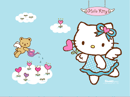 thanksgiving cat gif spring hello kitty hd wallpaper wallpapersafari