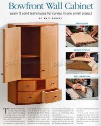 small wall cabinet plans u2022 woodarchivist