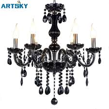 Black Chandelier Lamps Crystal Lights Lumination Lighting Marie Therese Black Chandelier