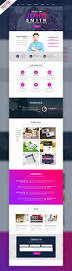 halloween website templates creative one page portfolio website template free psd