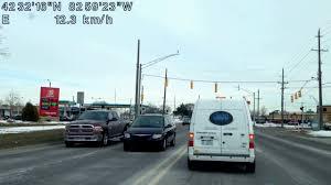 traffic light mt clemens driving from warren michigan to mount clemens michigan youtube