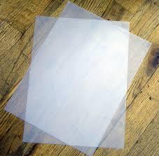 printable wax paper 29 lb vellum paper translucent transparent clear paper 8 5
