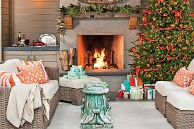 Christmas Outdoor Table Decoration Ideas by Christmas Decorations Southern Living