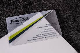 clear buisness cards clear plastic business cards luxury printing
