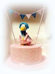 Duck Decorations Home Jemima Puddle Duck Finds A Home Cakecentral Com
