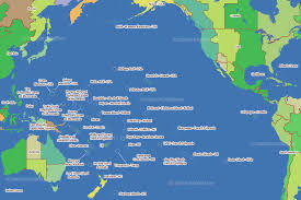 map usa oceans pacific time zone map