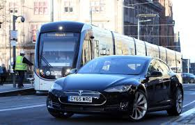 electric vehicles tesla electric car giant tesla opens first scottish showroom in