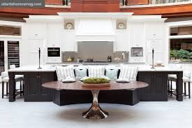 island kitchens trend alert a kitchen island that s also a breakfast nook