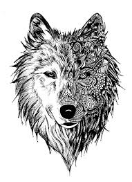 41 best maori wolf designs images on wolf tattoos