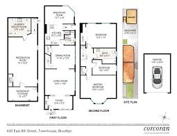 single family home floor plans 630 east 8th street brooklyn new york 11218 for sales