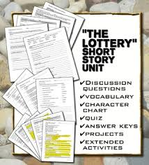 themes in the story the lottery the lottery by shirley jackson unit with hunger games comparison