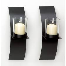 decor tips glass pillar candle holders for candle sconces with candle sconces simple and elegant touch of your interiors glass pillar candle holders for