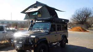 Eezi Awn Roof Top Tent Land Rover 110 Defender Fitted With A Eezi Awn 1 4m Roof Top Tent