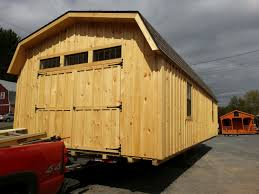 custom amish backyard wood sheds for sale in oneonta ny amish