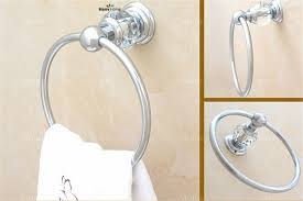 silver towel holder towel bar bathroom accessories free shipping