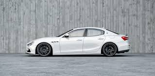 custom maserati sedan ultimate maserati ghibli quattroporte tuning wheelsandmore
