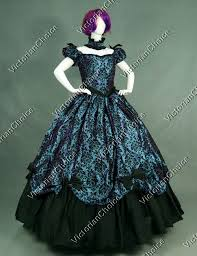 Victorian Dress Halloween Costume Belle West Victorian Dress Period Masquerade Ball Gown