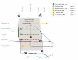 Light Rail Map Phoenix by Could Bus Rapid Transit Brt Be The Catalyst For A Walkable