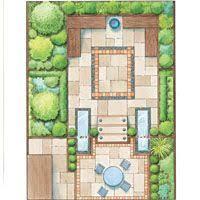 layout design for rear garden area u2026 pinteres u2026