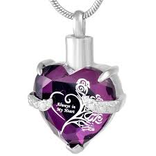 memorial pendants 9790 foreverlove cremation jewelry urn necklaces for ashes heart
