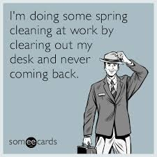 resume templates janitorial supervisor meme dog funny memes clean workplace i m doing some spring cleaning at work by clearing out my