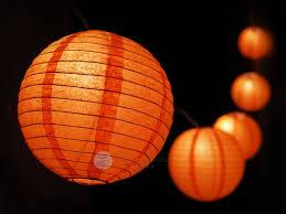 o lantern pumpkin paper lantern string light