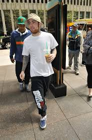 mac miller photos photos mac miller shows off his tattoos in nyc