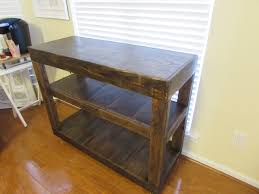 handmade kitchen islands kitchen handmade hardwood top kitchen island table with slat rung