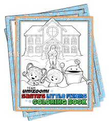 free team umizoomi christmas coloring pages