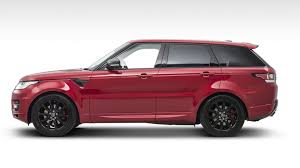 range rover modified red range rover sport subtly yet tastefully upgraded by sutton