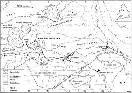 Derbyshire England Map by Movement Of The Mam Tor Landslide Derbyshire Uk Quarterly