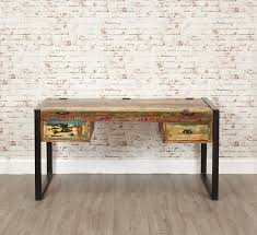Reclaimed Wood Vanity Table Urban Chic Laptop Desk Dressing Table Urban Chic Reclaimed