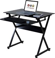 Black Tempered Glass Computer Desk Flash Furniture Black Tempered Glass Computer Desk