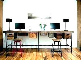2 desk home office desk for 2 two person desk home office two person desk home office