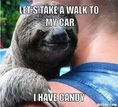 Sloth Asthma Meme - creepy sloth haha totally inappropriate pinterest sloth
