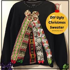 a quick and easy diy ugly christmas sweater mimicutelips
