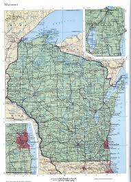 Printable Map Of Wisconsin by Wisconsin Mapfree Maps Of Us
